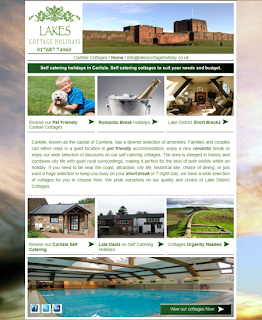 Carlisle Cottages in the North Lake District - Landing Page