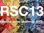Rainbow Scrap Challenge 2013