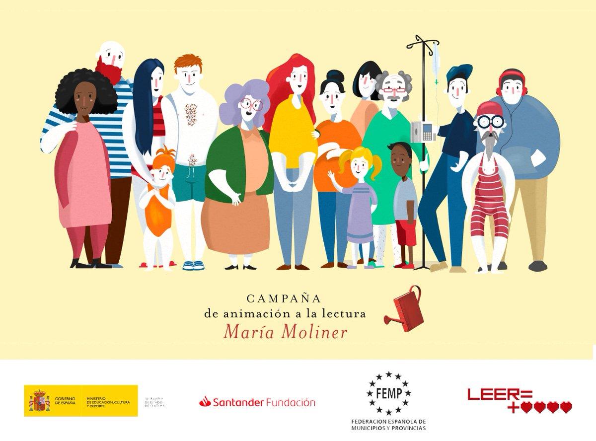 Entre las 300 bibliotecas de toda España ganadora de los premios de la XIX Campaña María Moliner