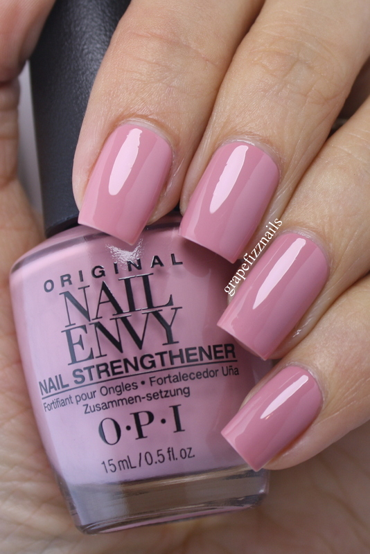 Grape Fizz Nails: New OPI Nail Envy