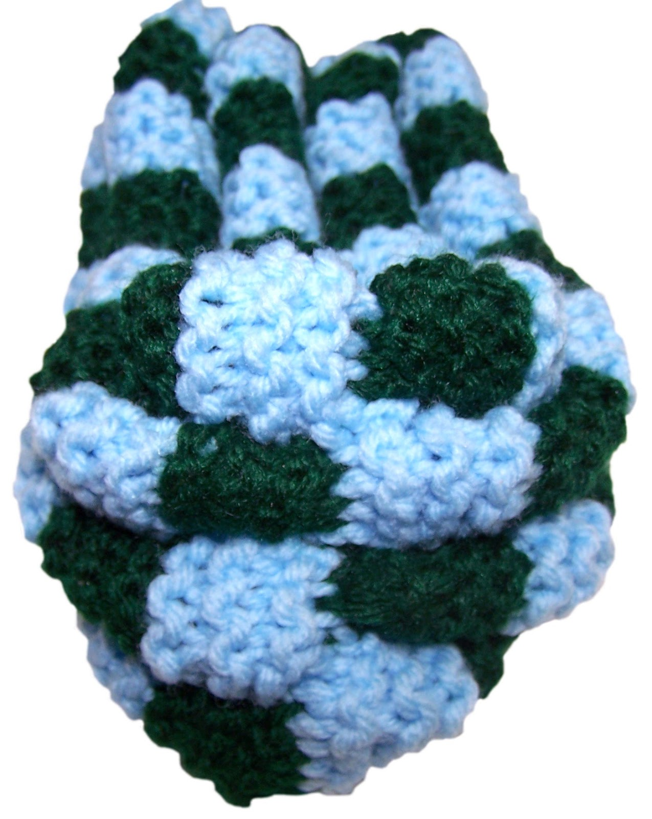 Knots Indeed: Puffy Knit Slippers