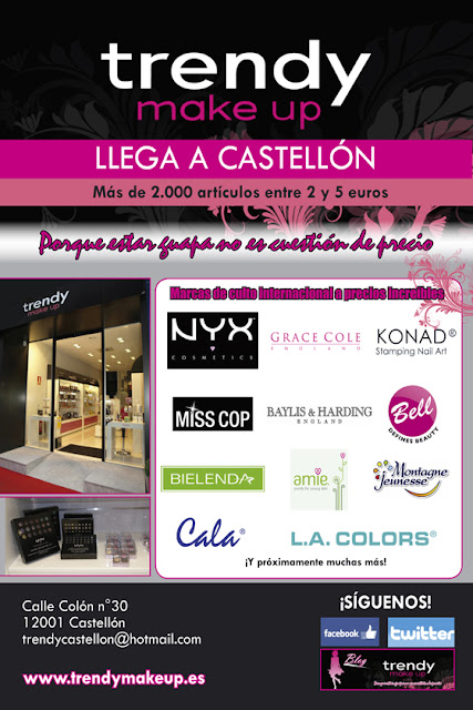 Trendy Make Up Castellón ya llega!!!!