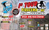 1° Tour MTB Cidade de Piracema - MG / XCP - 2015