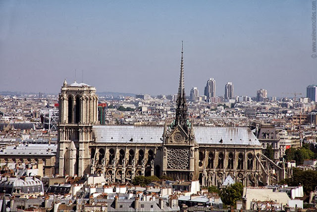 Notre-Dame seen from the Pantheon