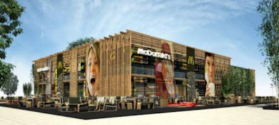 Restoran McDonald Terbesar di Dunia, ada di Olimpiade London 2012