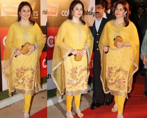 Anjali Tendulkar Rich Churidar