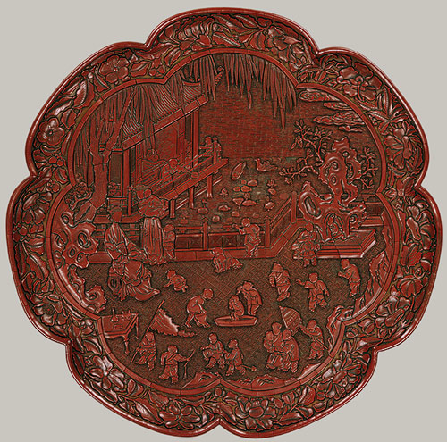 The History of Chinese Lacquer Carved and Painted
