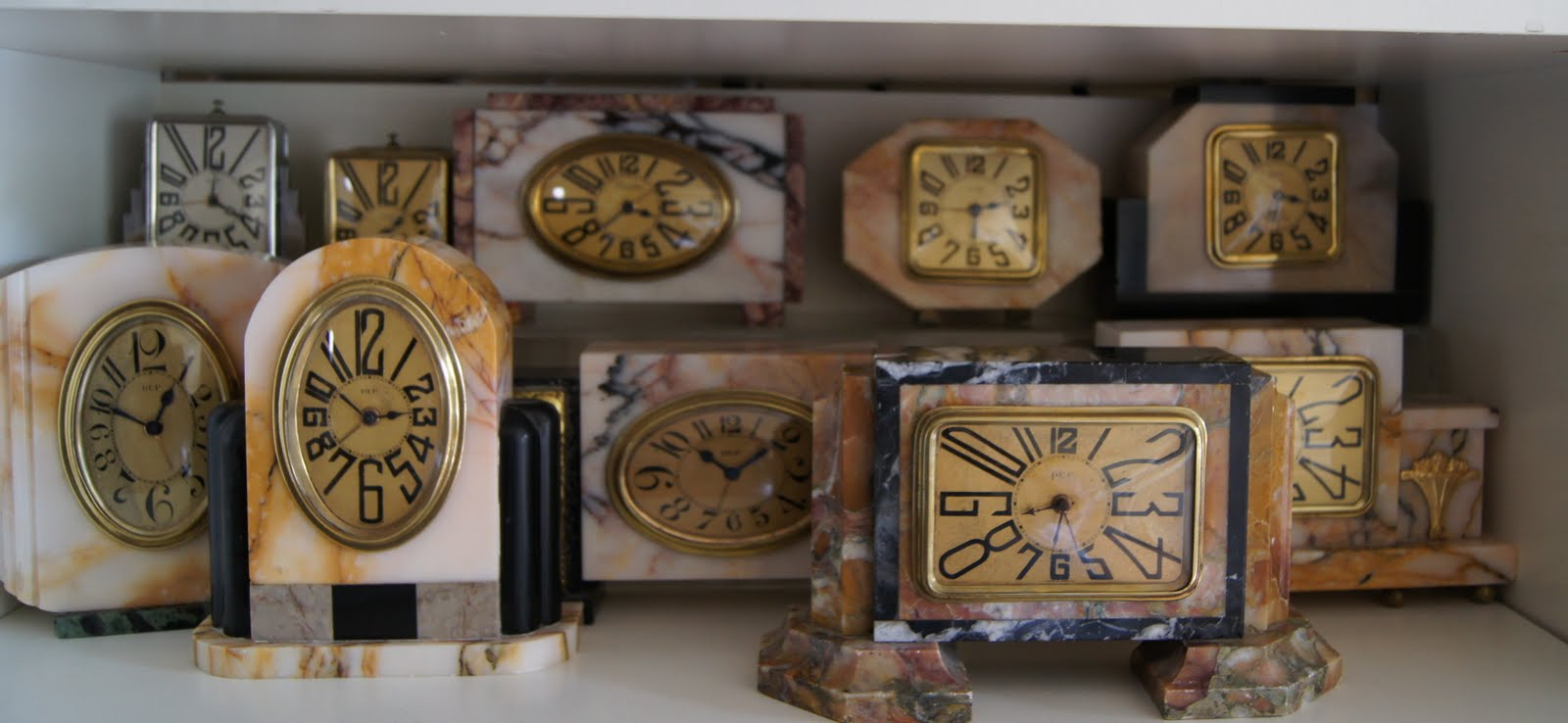 art deco clocks dep clocks continued. Black Bedroom Furniture Sets. Home Design Ideas