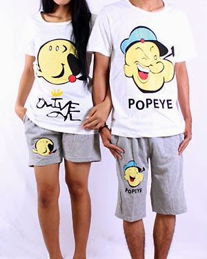 Kaos dan Celana Couple CO0434