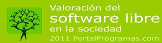 Informe sobre la valoración del software libre en la sociedad segun Portalprogramas