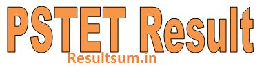 PSTET Result 2015