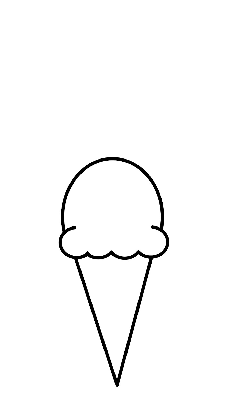 Line Art Ice Cream : Cute n kawaii how to draw a ice cream