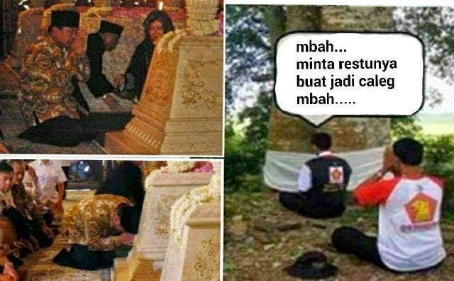 Prabowo Sembah Berhala
