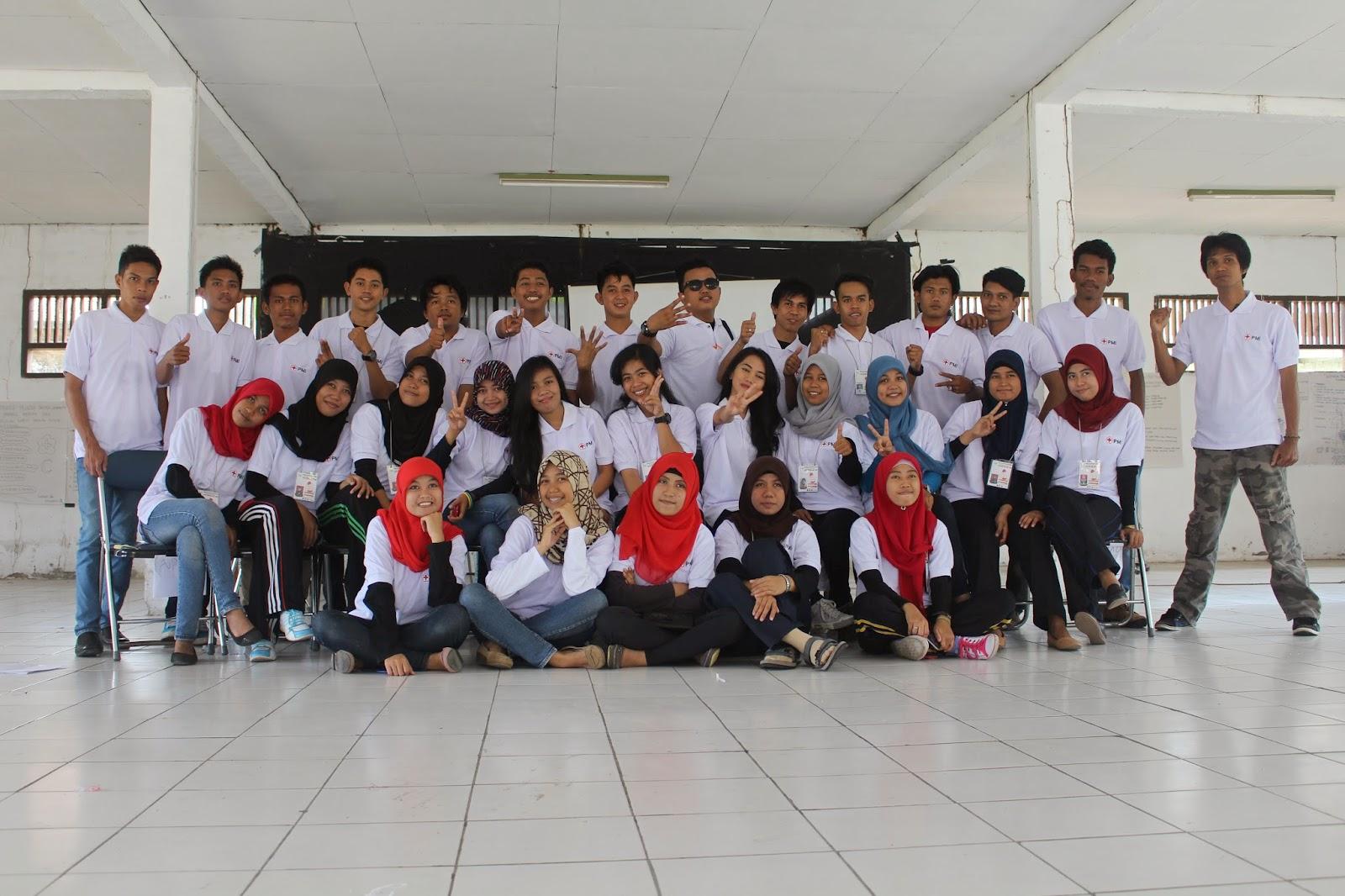 Peserta Pelatihan Spesialisasi PP KSR PMI Unit UNM Se Sulawesi Selatan 2014