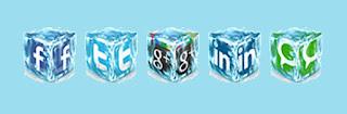 widget media social
