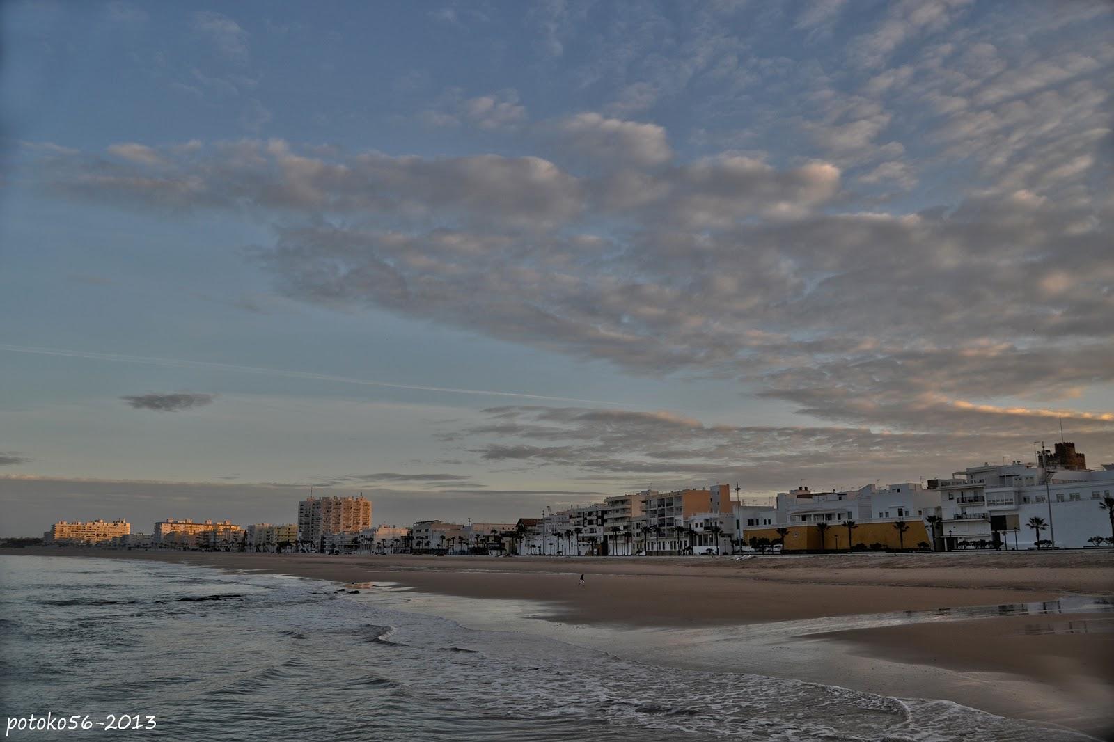 Playa de la Costilla en Rota