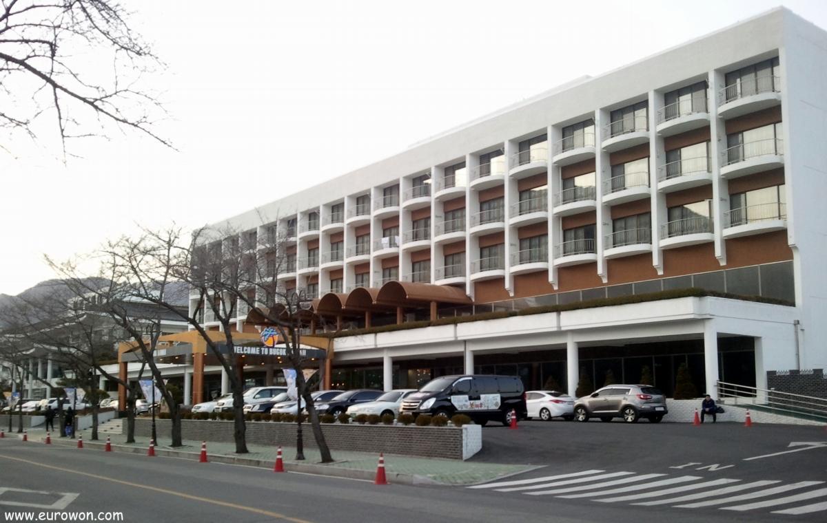 Hotel del spa Bukdon Hawaii de Corea del Sur