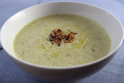 spring onion and celery soup