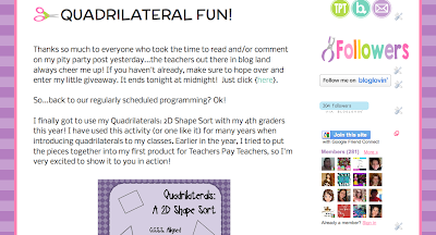 http://craftofteaching.blogspot.com/2013/04/quadrilateral-fun.html