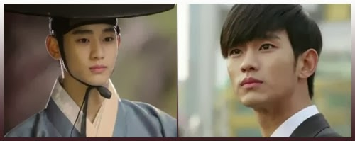 Kim Soo Hyun as Do Min Joon is the Joseon era as well as in modern times.