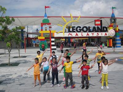 Goin' Bulilit in Lego Land Malaysia