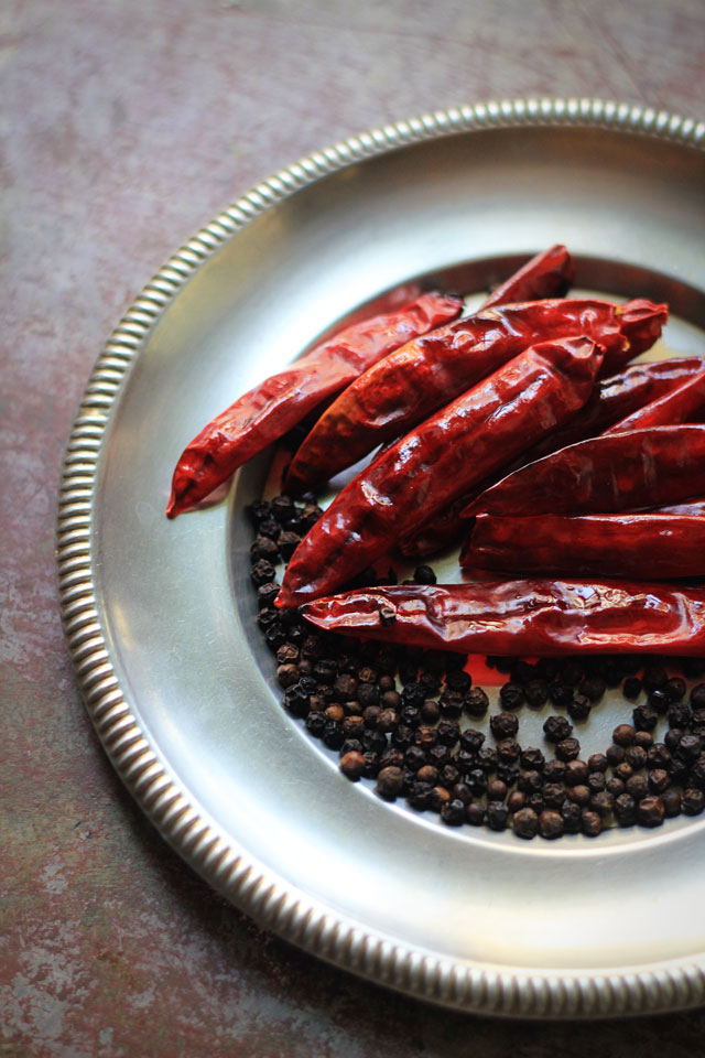 Baby Eggplant with Tamarind & Black Pepper 4 | Indian Recipes