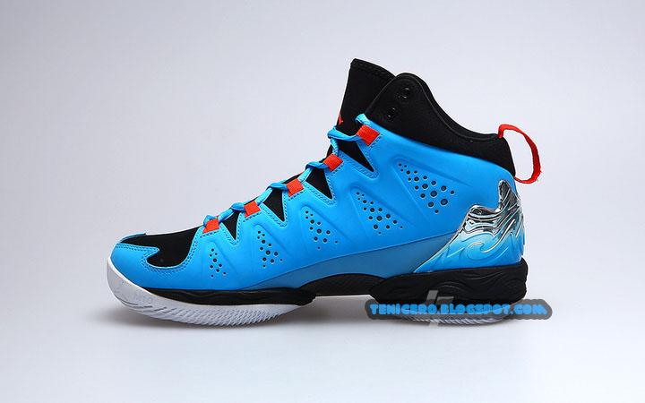 Tenis Jordan Azul Cielo