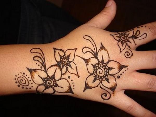 Mehndi Drawings Simple Designs : Mehndi designs easy for hands