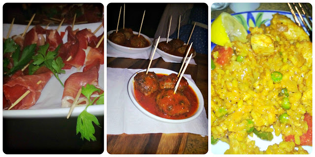 Tapas and Paella from La Tasca Trafford Centre Manchester