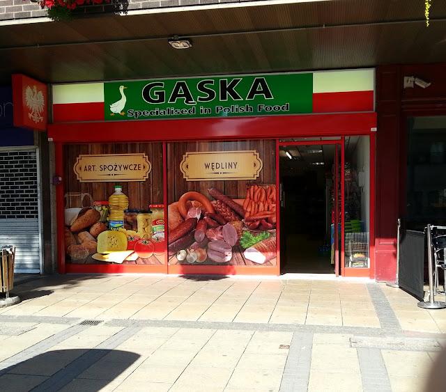 польский магазин в лондоне