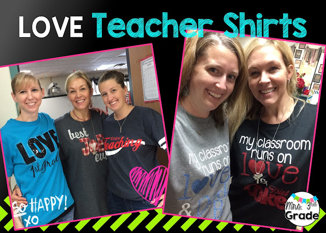 Teacher shirts make for a great outfit for Fridays