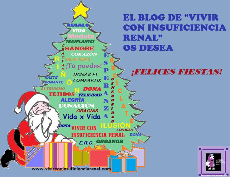 Vivir con insuficiencia renal: ¡Os deseo unas Felices Fiestas!