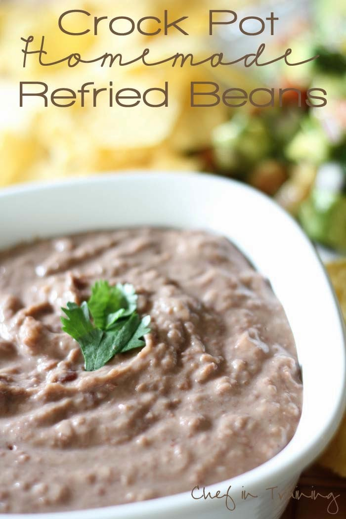 The BEST Slow Cooker Refried Beans from Food Bloggers | Slow Cooker ...