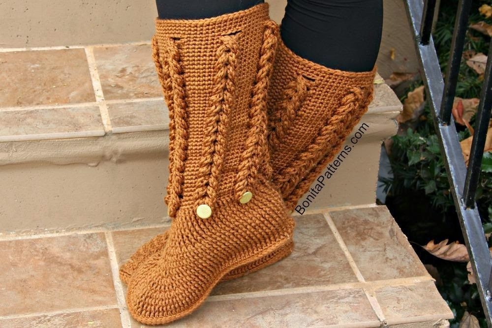 knited boots