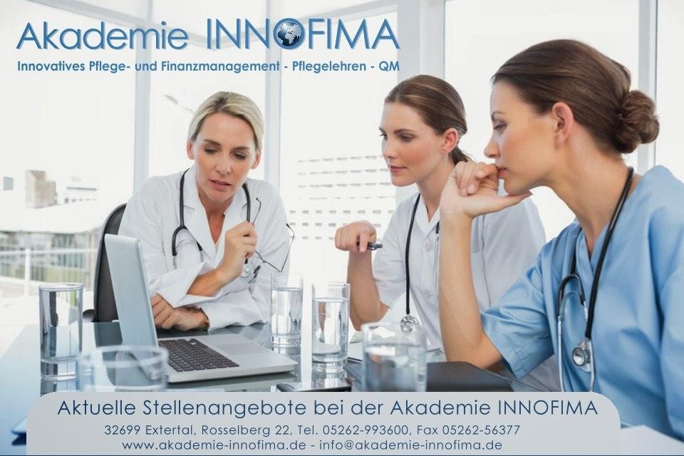 Stellenangebote Akademie Innofima, Extertal