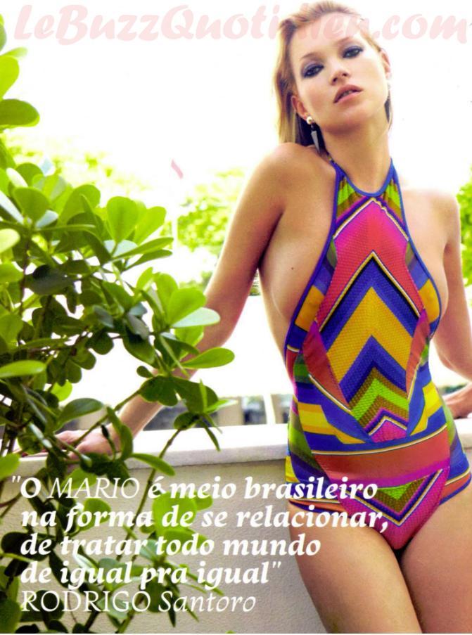Kate Moss nue Vogue