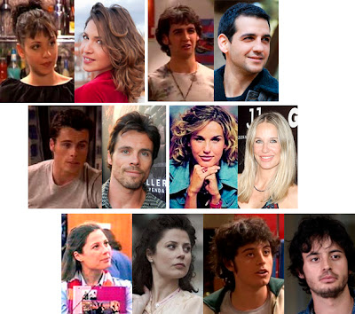 Personajes: Álex, Hugo, Jaime, Lucía, Claudia, Triki