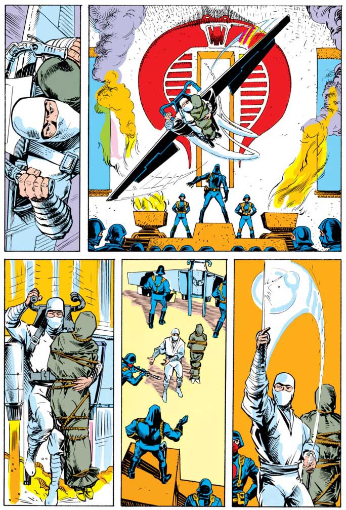 Back Issue Ben GI Joe The Secret Origin Of Snake Eyes
