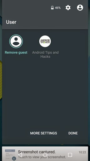 Cara Menggunakan Guest Mode dan User Account di Android Lollipop