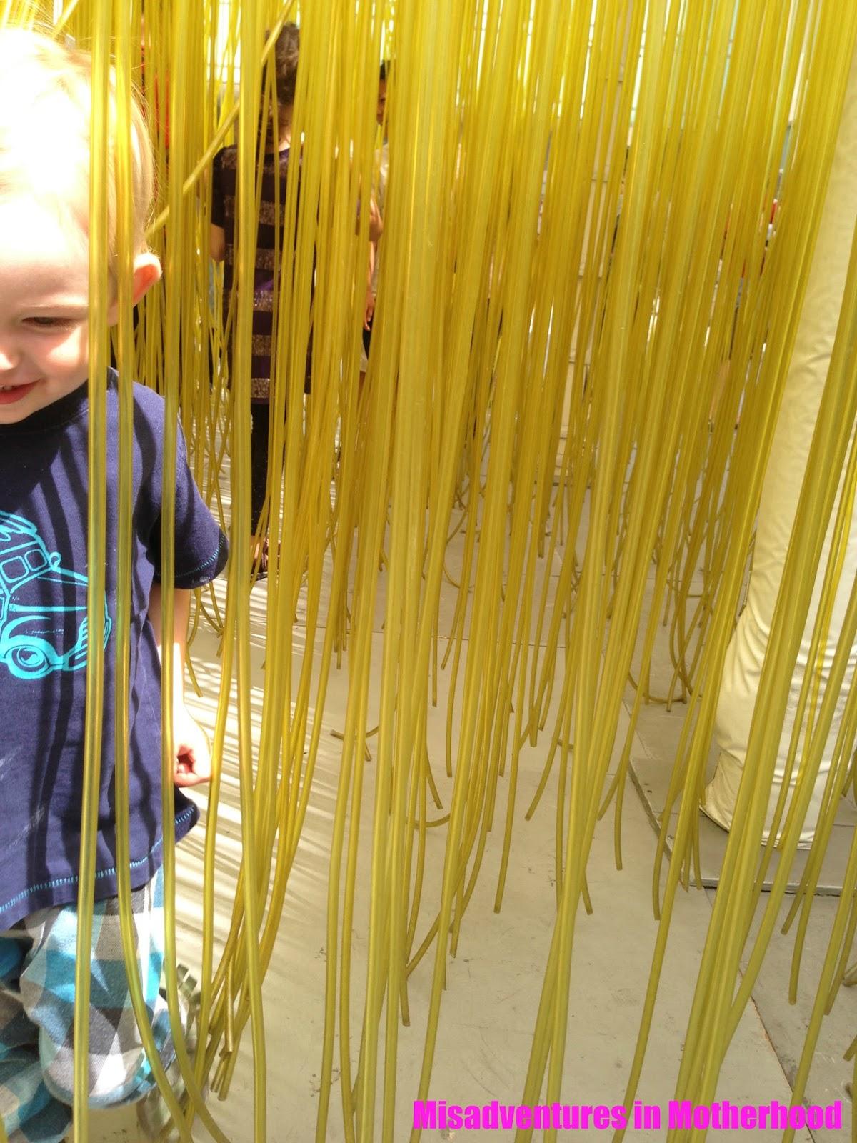 Noodles at LACMA