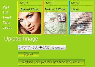 Cara Membuat Foto Menjadi Teks