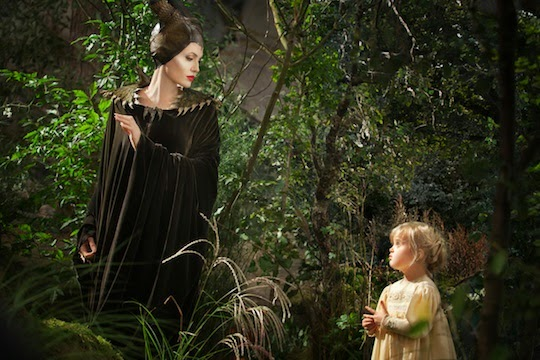 Gambar Film Maleficent Disney Animasi Bergerak Angelina Jolie Putri Tidur