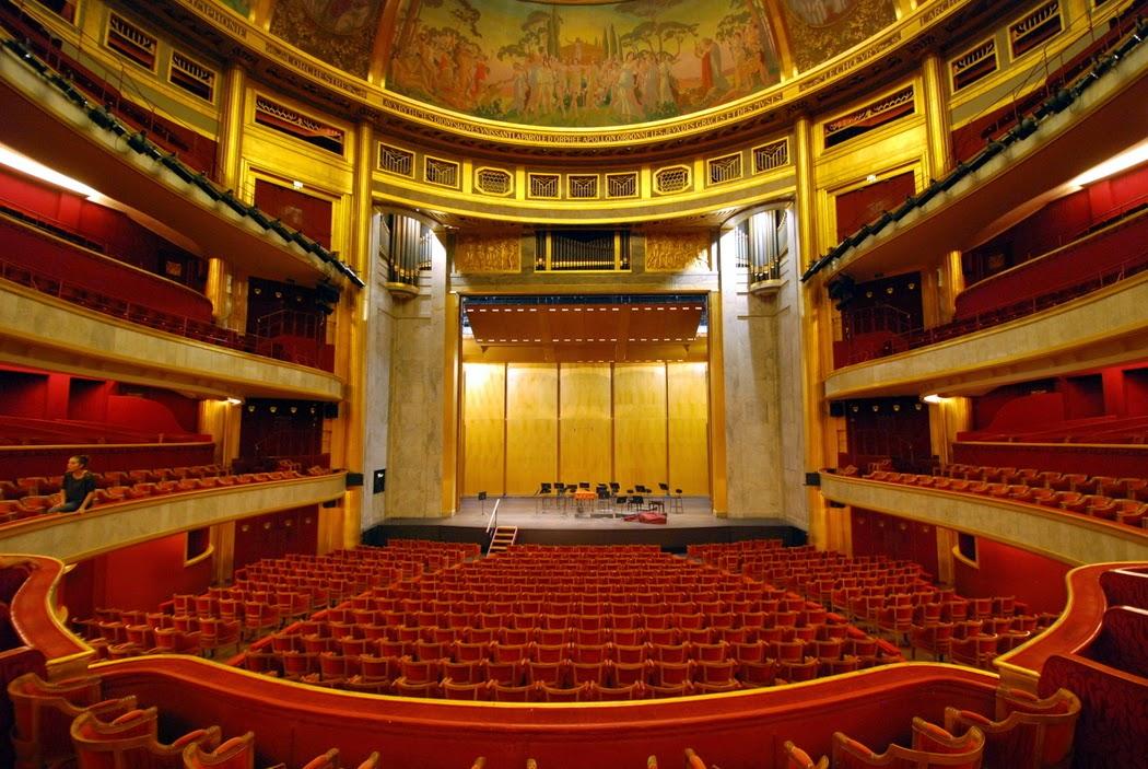 Corriere dello spettacolo i teatri di parigi il th tre - Plan salle theatre porte saint martin ...