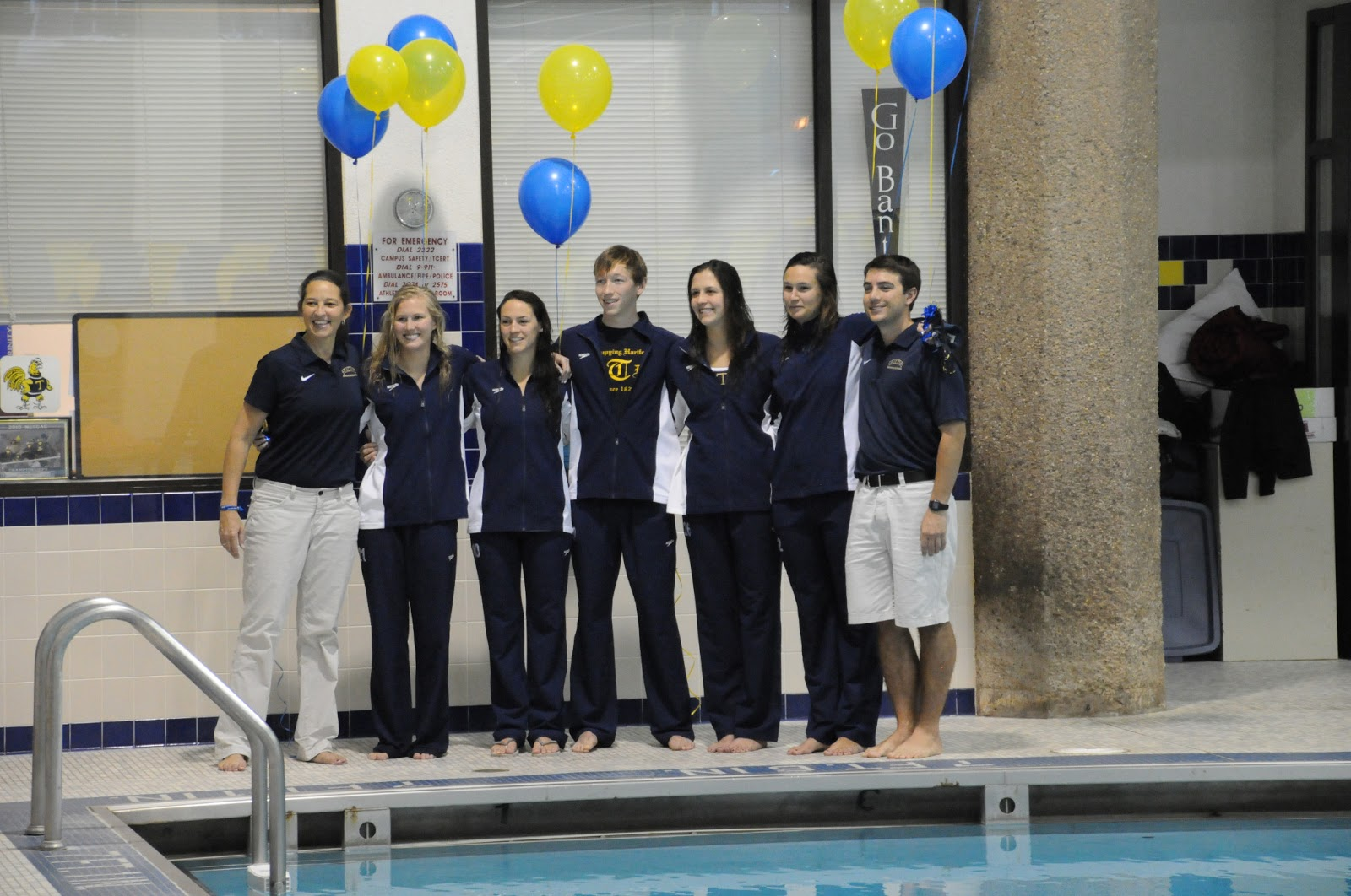Trinity college swimming diving women 39 s team second - Trinity college swimming pool timetable ...