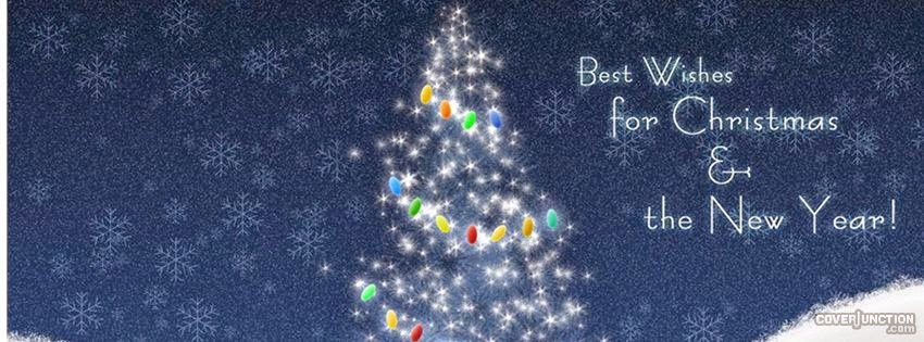 Best Wishes Christmas And New Year Cover Photo