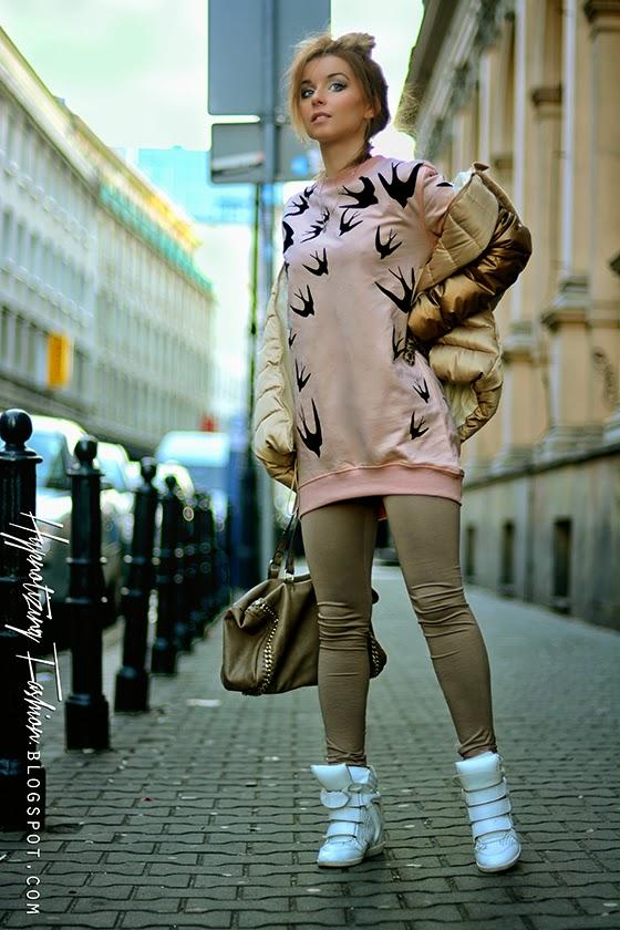 bluza jaskółki  blog