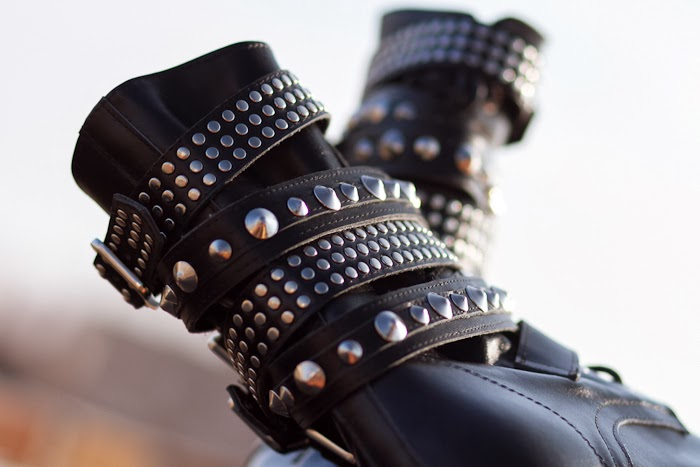 NEW IN: THE YSL SPIKED BOOTS LOW COST OPTION