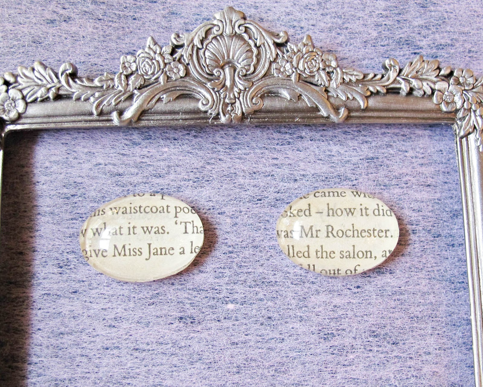 image glass magnets jane eyre mr rochester domum vindemia charlotte bronte upcycled