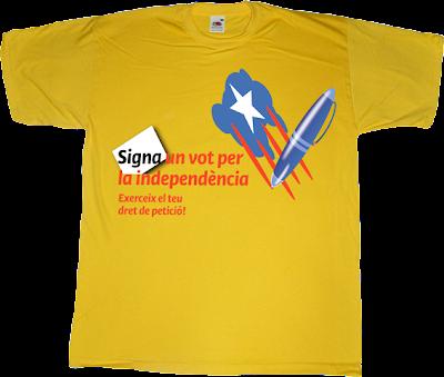 independence declaració unilateral d'independència dui freedom catalonia catalan referendum t-shirt ephemeral-t-shirts