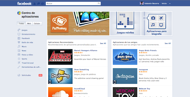 Facebook lanza App Center, su propia tienda de aplicaciones